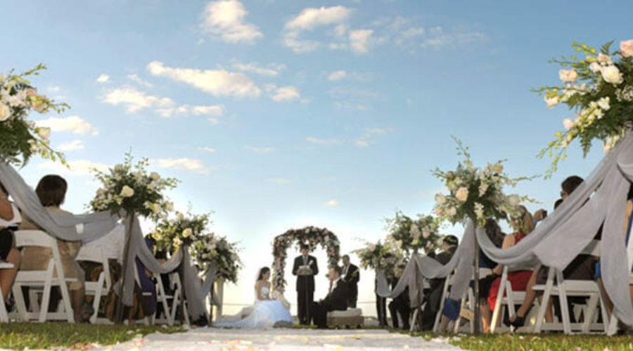 L'arche décore votre cérémonie de mariage