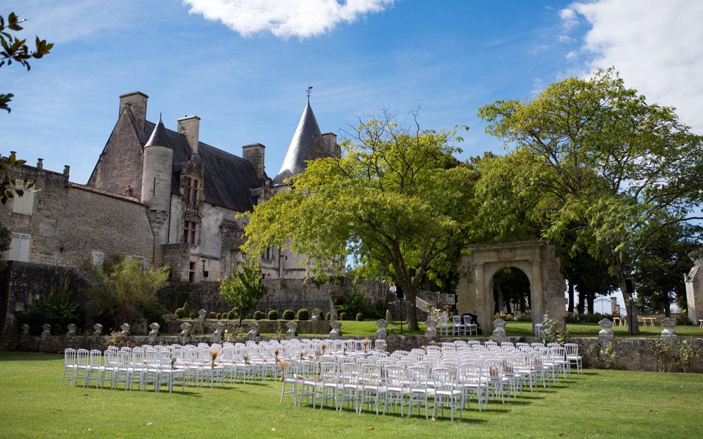 Ceremonie chateau crazannes