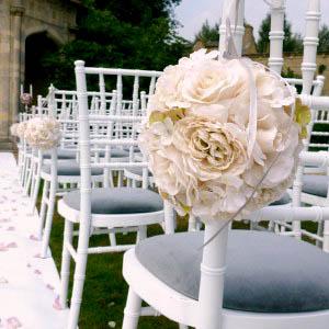 Decoration Allee bouquet