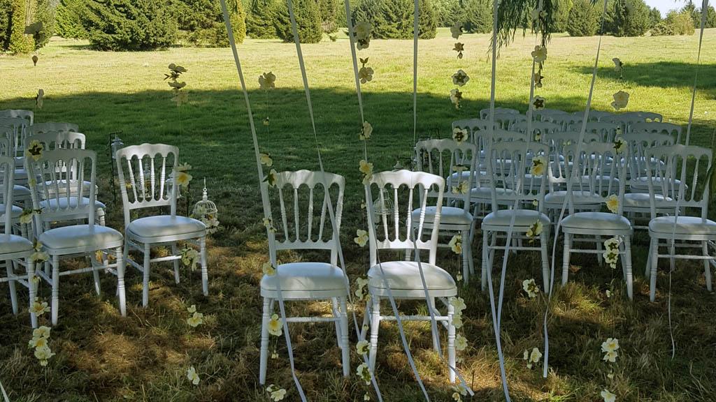 Decoration ceremonie laique mariage Amandine Yoann