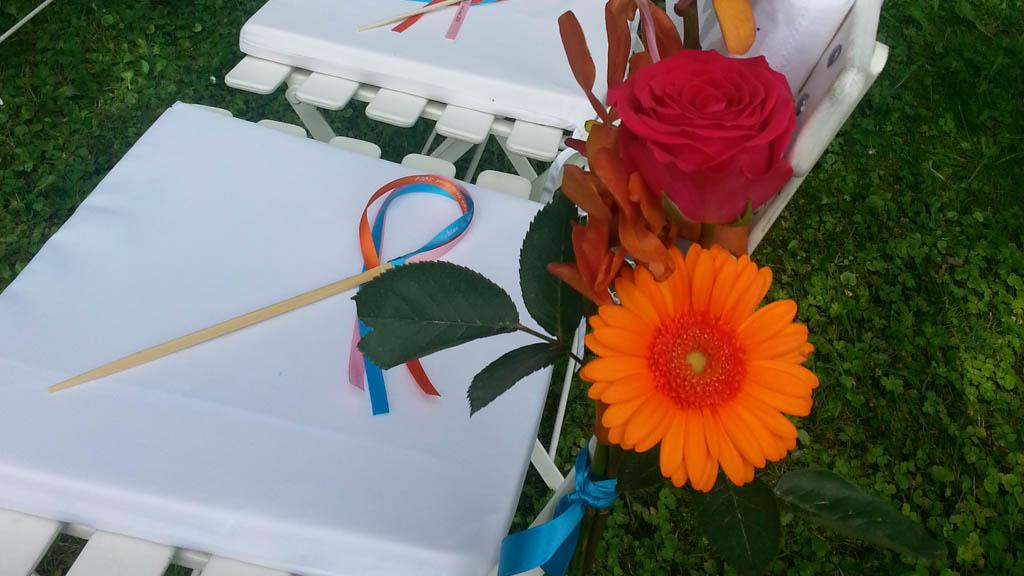 Decoration ceremonie laique mariage Delphine Regis 2