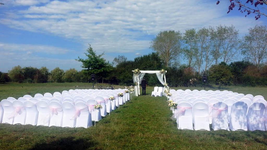 Decoration ceremonie laique mariage Emilie Charly