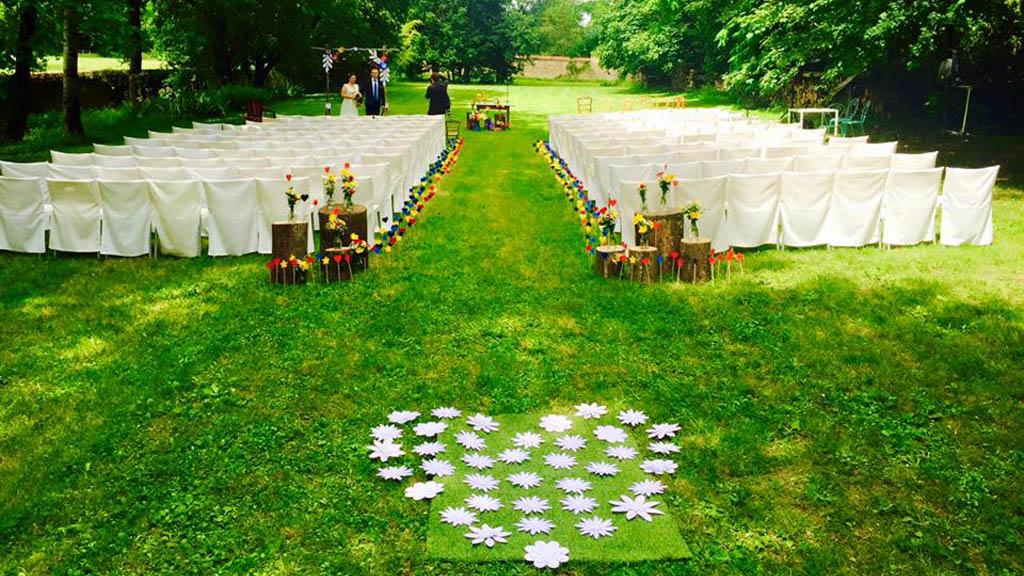 Decoration ceremonie papier 4
