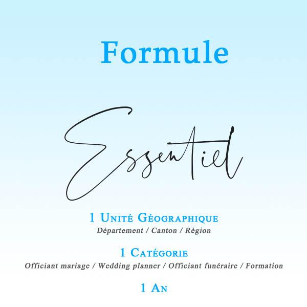 FORMULES Essentiel