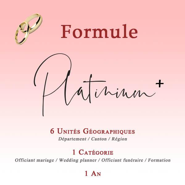 FORMULES Platinium 1