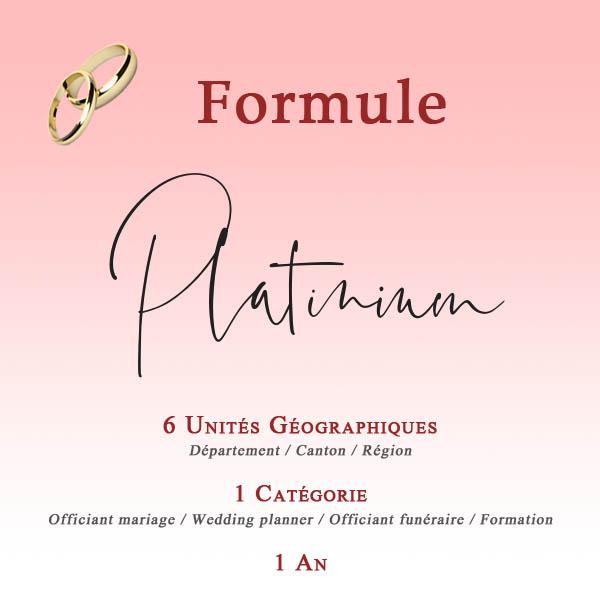 FORMULES Platinium